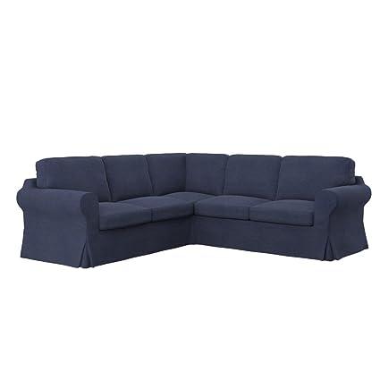 Amazon.com: Soferia - Replacement Cover for IKEA EKTORP 2+2 ...
