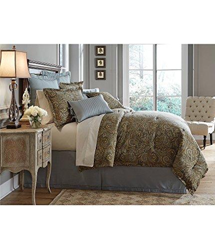 Noble Excellence Villa Umberto Full/Queen 4 Piece Comforter Set Paisley Multi