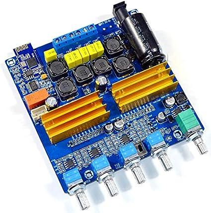 Amazon Com Tpa3116 2 1 Bluetooth 5 0 Class D 100w 250w Digital Hifi Power Amplifier Board Musical Instruments