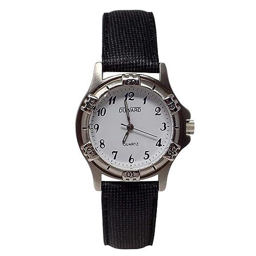 DUWARD Reloj para Mujer Analógico Cuarzo con Correa de Piel sintética D41467.01: Amazon.es: Relojes