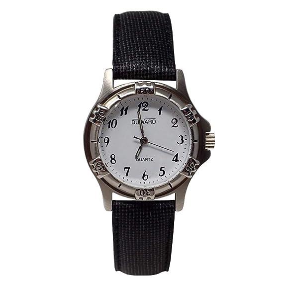 DUWARD Reloj para Mujer Analógico Cuarzo con Correa de Piel sintética D41467.01