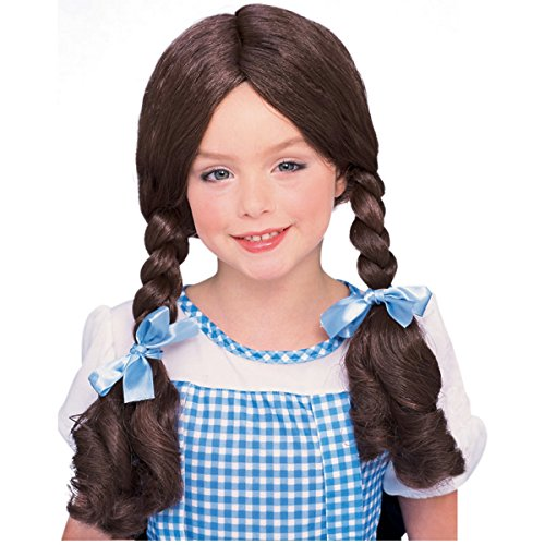 Girls Dorothy Wig (Dorothy Wig Costume Accessory)