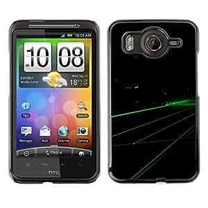 Cubierta de la caja de protección la piel dura para el HTC DESIRE HD / G10 - Abstract X
