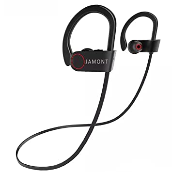 Jamont Bluetooth Auriculares inalámbricos Deportes Auriculares ...