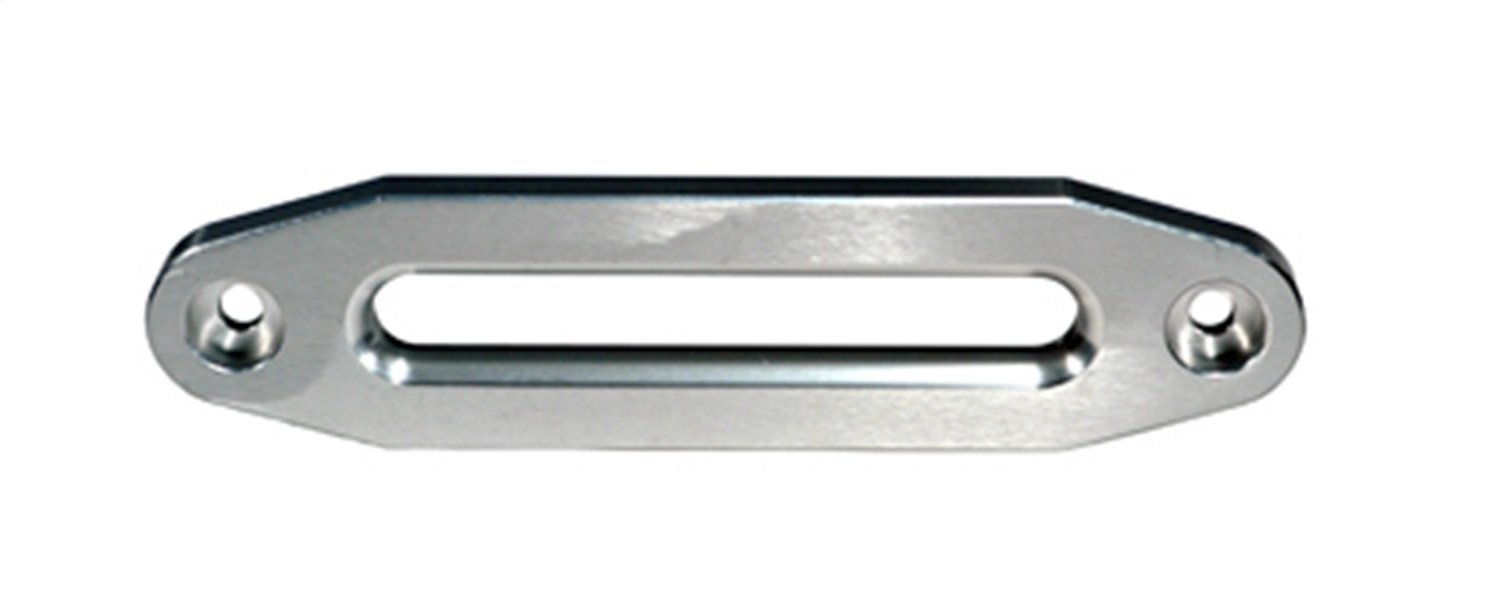 Rugged Ridge 11238.01 10'' Aluminum Hawse Fairlead for use with Synthetic Winch Rope