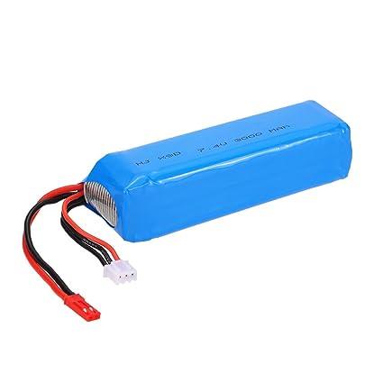 Amazon com: JIMI 7 4V 3000mAh LiPo Battery for Frsky Taranis