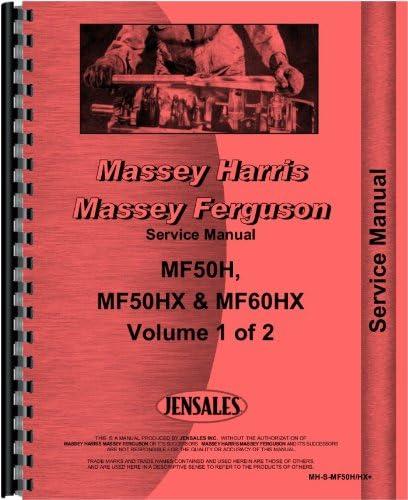 Massey Ferguson 50H Tractor Loader Backhoe Service Manual ...