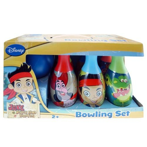 Disney Licensed: Jake and the Neverland Pirates Bowling Set in Display Box by Disney