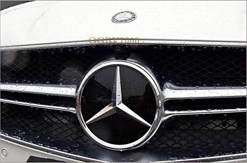 FidgetFidget Car Led Grille BlLED for Logo Emblem Light for Mercedes Benz GLC GLE GLS Illuminated