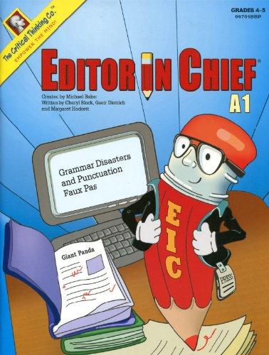 Editor in Chief® A1 -