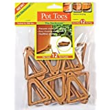 Plant Stand PT-12TCHT 12-Pack Terra Cotta Pot Toes