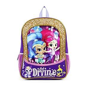"Nickelodeon Shimmer and Shine ""Feel Divine"" Backpack"