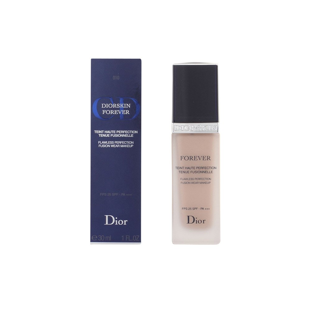 Christian Dior Diorskin Forever Flawless Perfection Fusion Wear SPF 25 Foundation for Women, # 010 Ivory, 1 Ounce