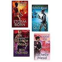 Richelle Mead Dark Swan Bundle: Storm Born, Thorn Queen, Iron Crowned & Shadow Heir