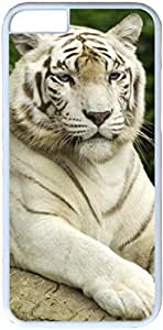 Animals Tigers #27296 Apple iPhone 6 Case, iPhone 6 Cases PC White Hard Shell Cover Skin Cases