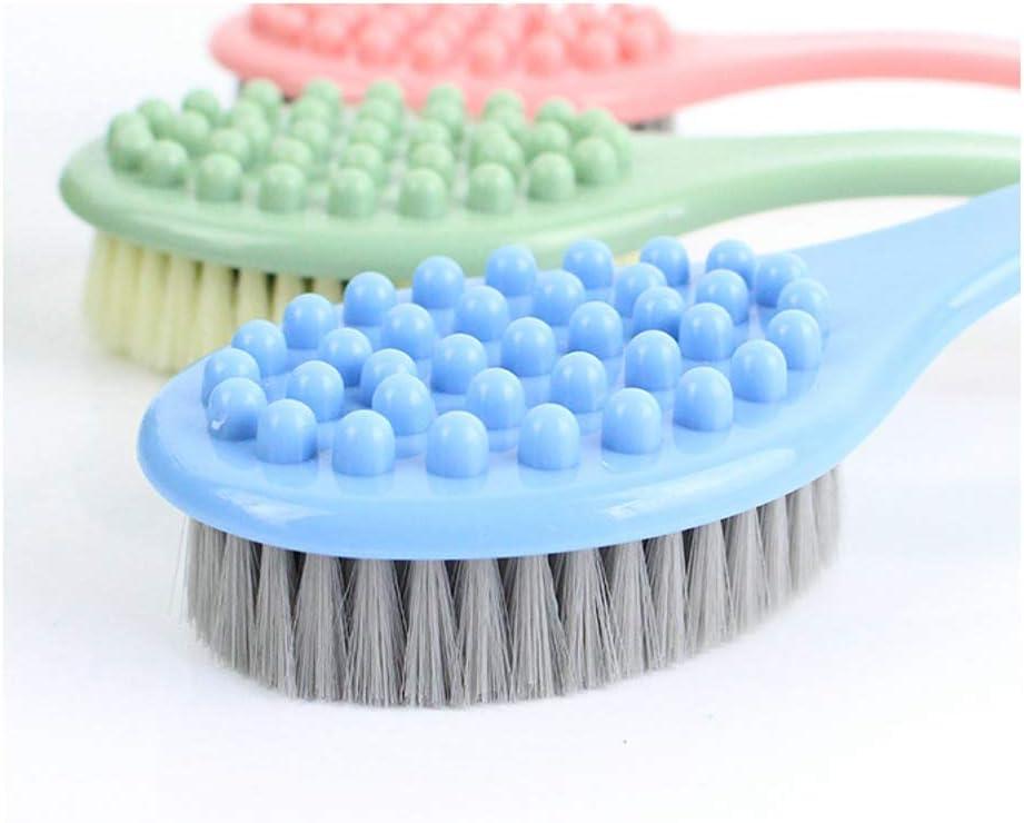 TOPBATHY Long Handle Bath Brush Shower Massage Body Scrubber Brush for Home
