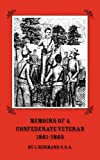 Memoirs of a Confederate Veteran 1861-1865, Isaac Hermann, 0877973199
