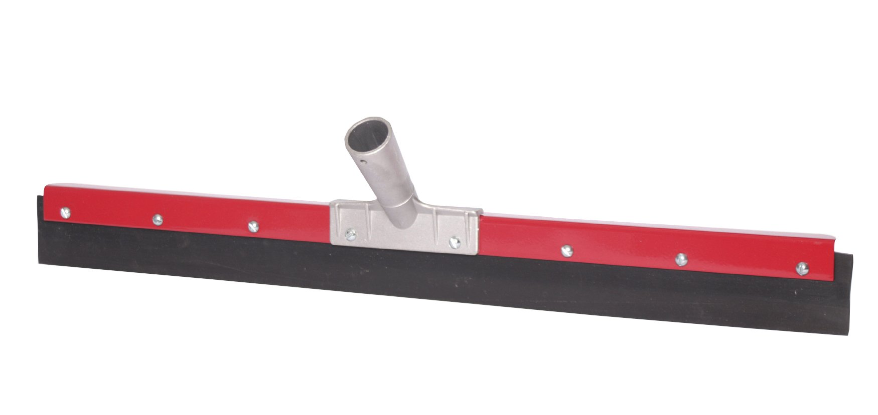 Haviland 324 Synthetic Rubber Buna Blend Heavy Duty Floor Squeegee, 24'' Length, Black