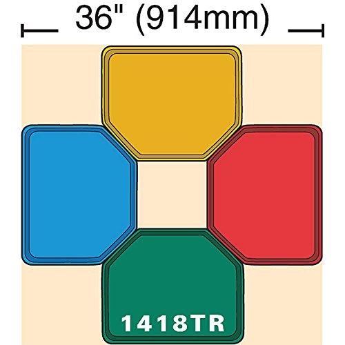 Cambro 1418TR105 Horizon Blue 14