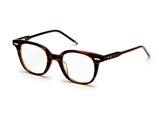 3adffbafcc45 Image Unavailable. Image not available for. Color  THOM BROWNE TB 405 B-WLT  Walnut Eyeglasses