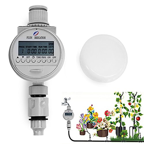 Solar Power Automatic Water Timer Smart Garden Water Saving Irrigation Controller