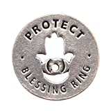 Protected Blessing Ring on Key Loop