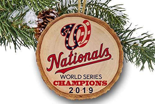 Washington Nationals World Series Champions 2019, Baseball, Wooden ornament, Champs 2019, logo
