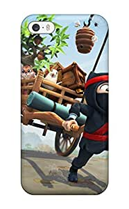 Hot Fashion BpidKEU9545ldYWt Design Case Cover For Iphone 5/5s Protective Case (clumsy Ninja)
