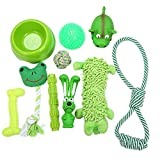 10 Pieces Dog Toys,Cat Toys,Pet Toy, Animal Funny Toys for Pet Play Chew And Training, Christmas Gifts (10 pack)