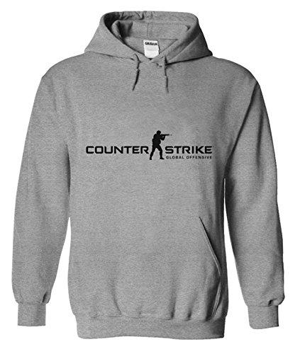 Para hombre Csgo counter-Strike Global Offensive sudadera con capucha sudadera Pullover regalo de Navidad regalo de cumpleaños el desgaste diario para ...