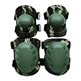 MonkeyJack Adult Knee & Elbow Pads Set for Outdoor Riding Mountaineering Equipment