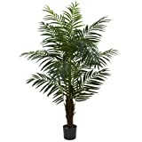Nearly Natural 5416 Areca Palm Tree, 5-Feet, Green