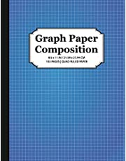 Graph Paper Composition Notebook: Quad Ruled 5x5, Grid Paper for Math & Science Students