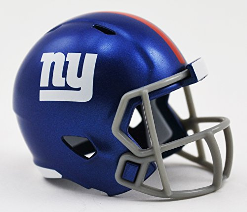 New York Giants NFL Riddell Speed Pocket PRO Micro/Pocket-Size/Mini Football Helmet (New York Giants Mini Speed Helmet)
