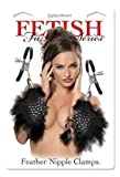 Fetish Fantasy Feather Nipple Clamps Black