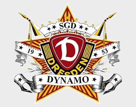 Wall Tattoo Sticker Dynamo Dresden Logo Star Xcm