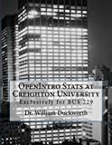 OpenIntro Stats at Creighton University: Exclusively for BUS 229