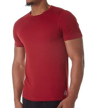 97913583f8dba6 Reebok Men's Performance S/S Crew T-Shirt at Amazon Men's Clothing store: