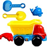 VGHJK Children's Beach Toys Set Large Hourglass Sanding Tools Baby Playing Water Playing Sand Shower Cassia Toys (Color Random),E