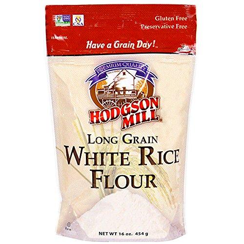 Hodgson Mill Rice Flour, White, 16 Ounce (Pack of 6)