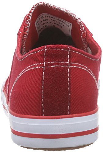 H.I.S Damen 141-007 Sneakers Rot (Red)