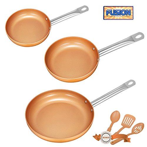 3 frying pans - 8
