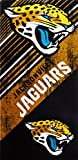 Officially Licensed NFL Jacksonville Jaguars Diagonal Beach Towel