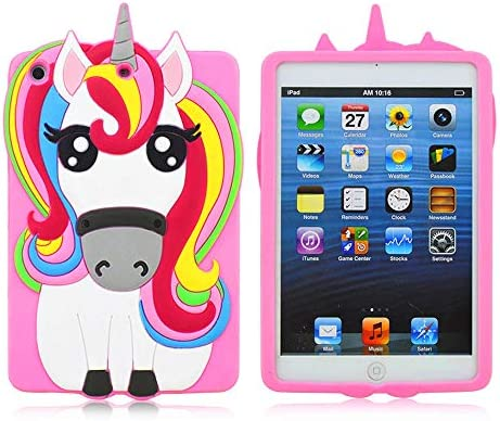 iPad Mini 1 2 3 Case Unicorn Awsaccy