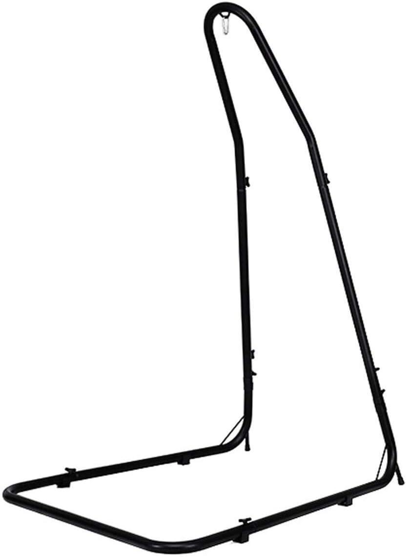 Zupapa Steel Hammock Swing Stand Height Adjustable Hammock Chair Swing Stand for Hanging Chairs Air Porch Loungers, Weather Resistant, Indoor Outdoor Deck Patio Yard