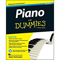 Piano For Dummies: Book + Online Video & Audio Instruction.