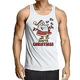 Best Comical Shirt Man Christmas - lepni.me Men's Tank Top Dancing Santa Claus Christmas Review