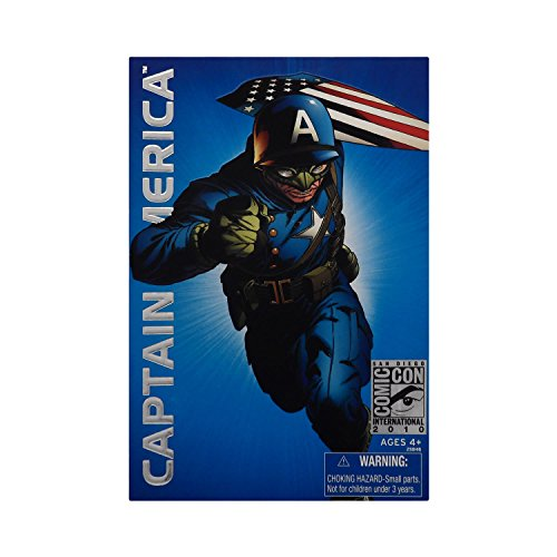 Marvel Hasbro 2010 SDCC San Diego ComicCon Exclusive Universe 3 3/4 Inch Action Figure Ultimate Captain America ()