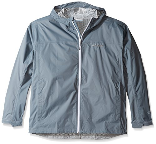 Columbia Men's Evapouration Jacket, Grey Ash, XX-Large