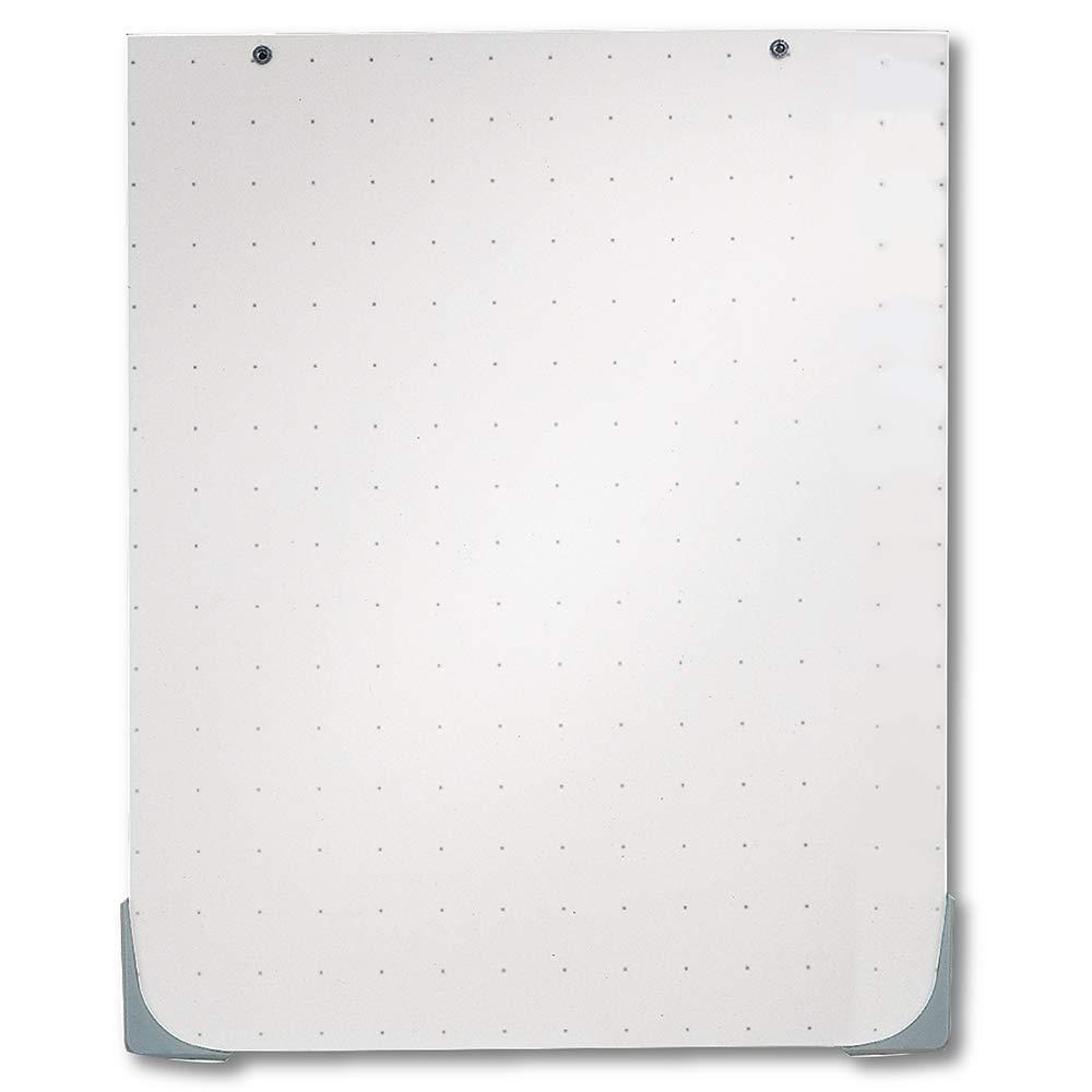 Quartet Whiteboard, Accessory for Easels, 27'' x 34'' Dry Erase Board, DuraMax Total Erase (210TEA)